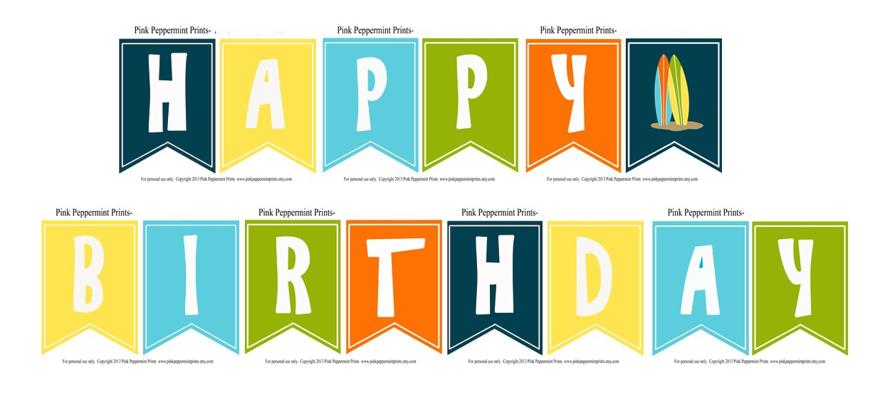 printable birthday banner template vatoz atozdevelopment co