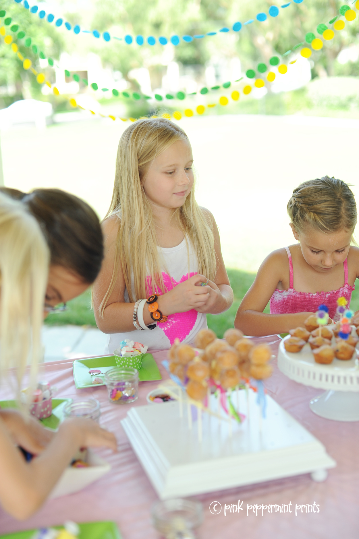 Arts and crafts party for little girls summer party ideas birthday party ideas