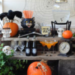 Halloween Party for Pottery Barn: Bone Appetit Drink Station