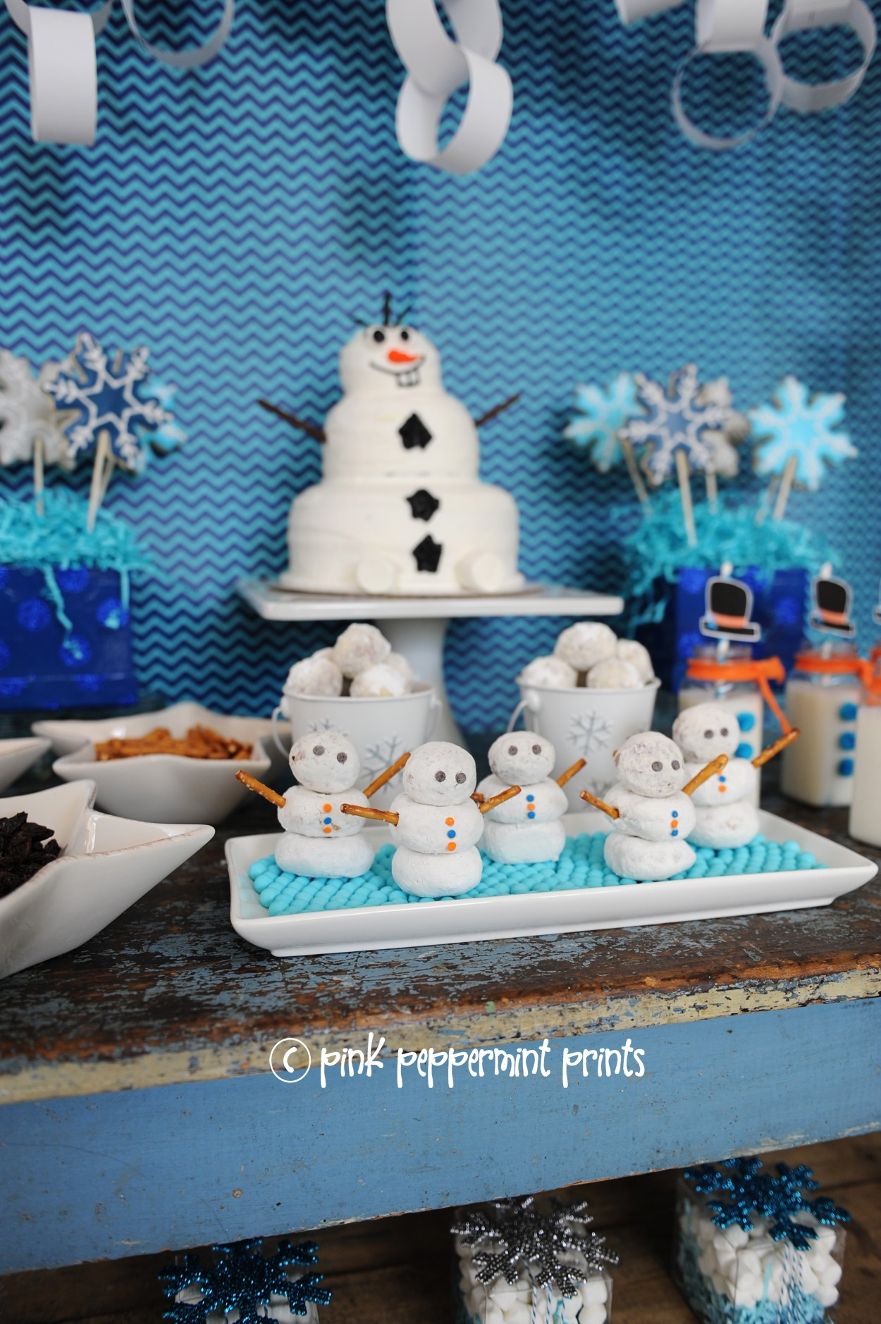 WinterSnow Parties A Disneys FROZEN Movie Inspired Snowman Party