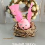 Kid's Easter Craft DIY: How to Make a Cute Easter Nest from a Paper Bag