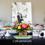 Carnival Themed Engagement Party with Shutterfly