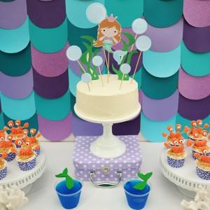 Mermaid Party Ideas : Mermaid Pool Party