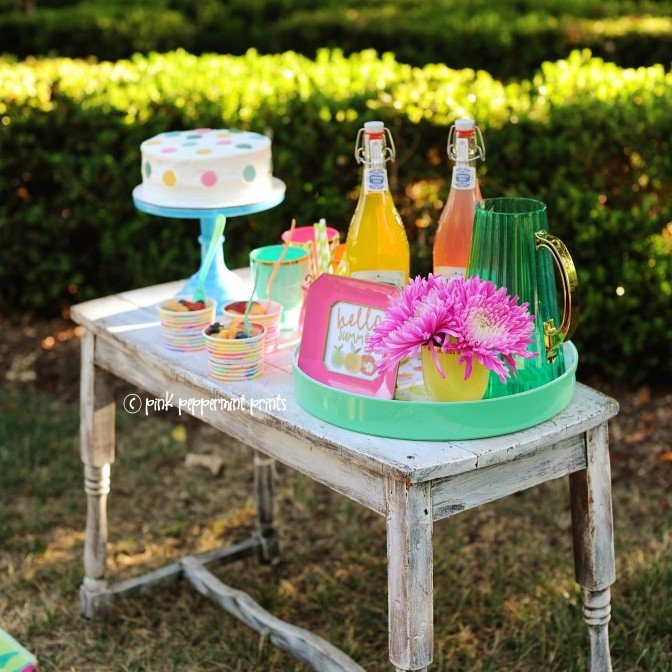 Oh joy summer shoot colorful party rainbow party summer party 681x10241