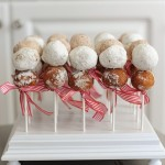 Easy DIY Party Food: Donut Holes on a stick