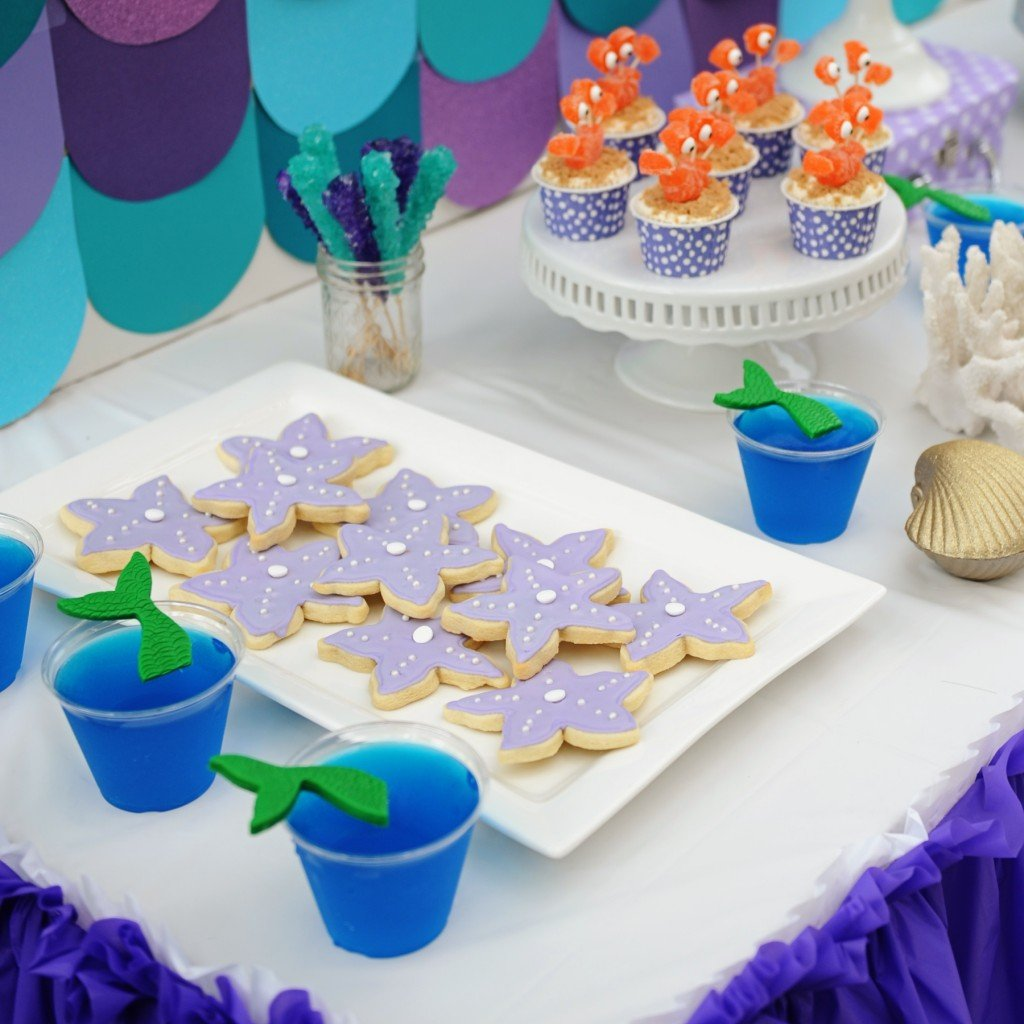 mermaid birthday party food ideas