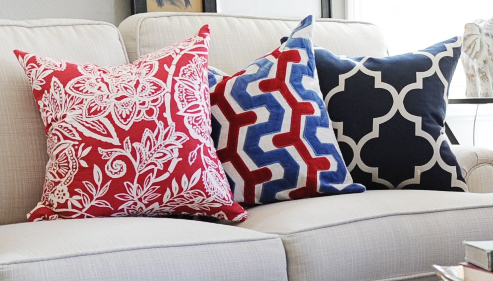 Interior Design: The Power of Pillows - Pink Peppermint Design