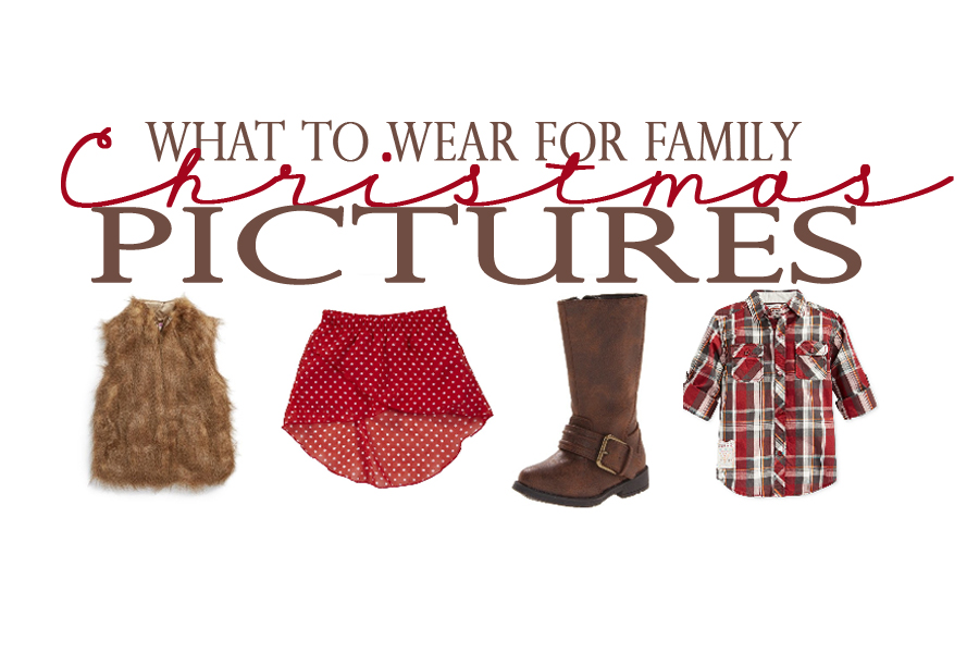 What to Wear: Kid\'s Christmas Card Picture Outfits - Pink Peppermint ...