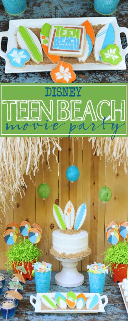 teen beach party