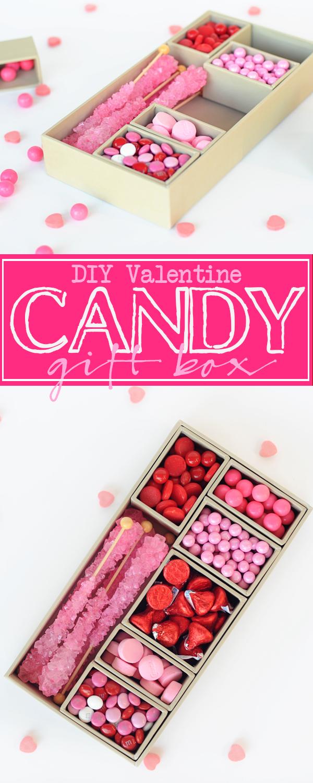 Diy Valentine Gifts Part - 15: Valentine Candy Box. DIY Candy Valentine Gift Box