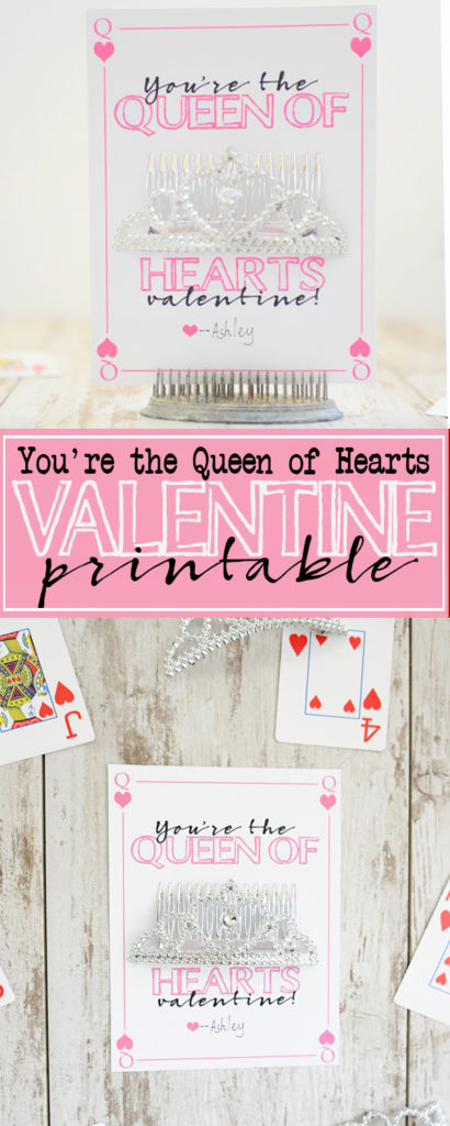 free queen of hearts printables