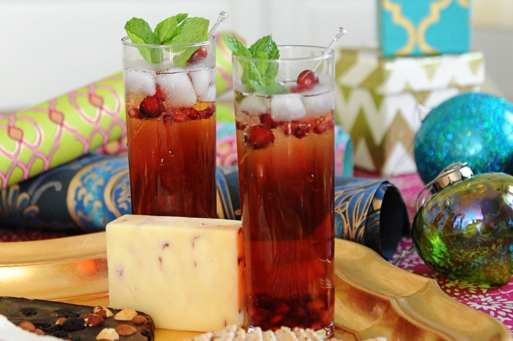 Cranberry Pomegranate Cocktail idea by Tammy Mitchell