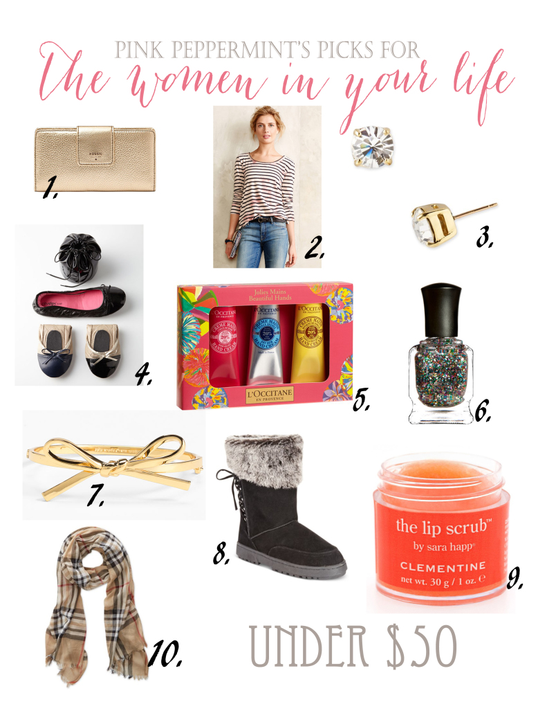 Pink Peppermint\'s Picks: Christmas Gift Guide - Pink Peppermint Design