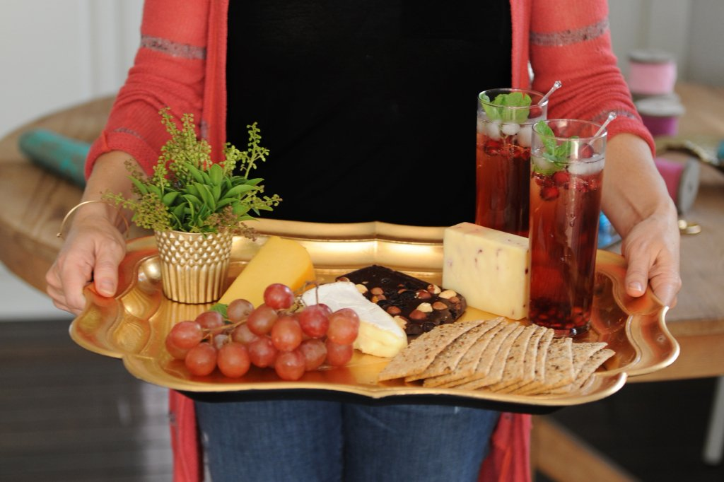 Cheese Plate Idea by Tammy Mitchell