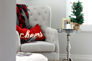A Beautiful Christmas Holiday Home Tour with A Thoughtful Place Blog