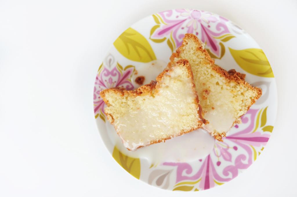 Sparkling Cider Pound Cake Recipe by Tammy Mitchell