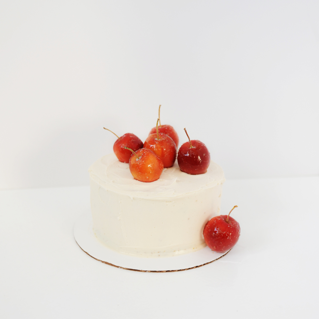 crab apple cake
