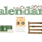 Stay Organized: My Favorite Calendars for 2015