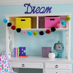 Interior Design: Tween Girl Bedroom Design Purple and Turquoise