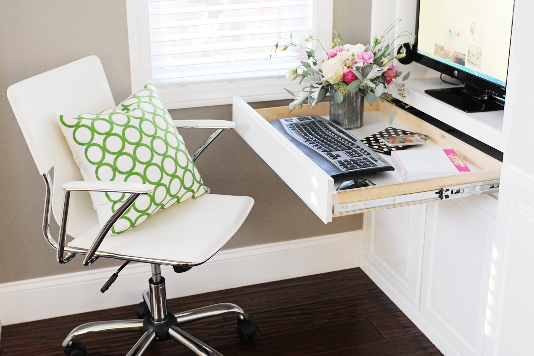 creating a small home office. Create A Family Room Office Nook In Small Space Creating Home