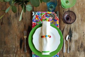 Interior Design: Bold Spring Table Top