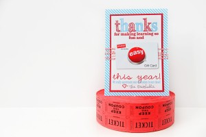 free teacher gift ideas and printables