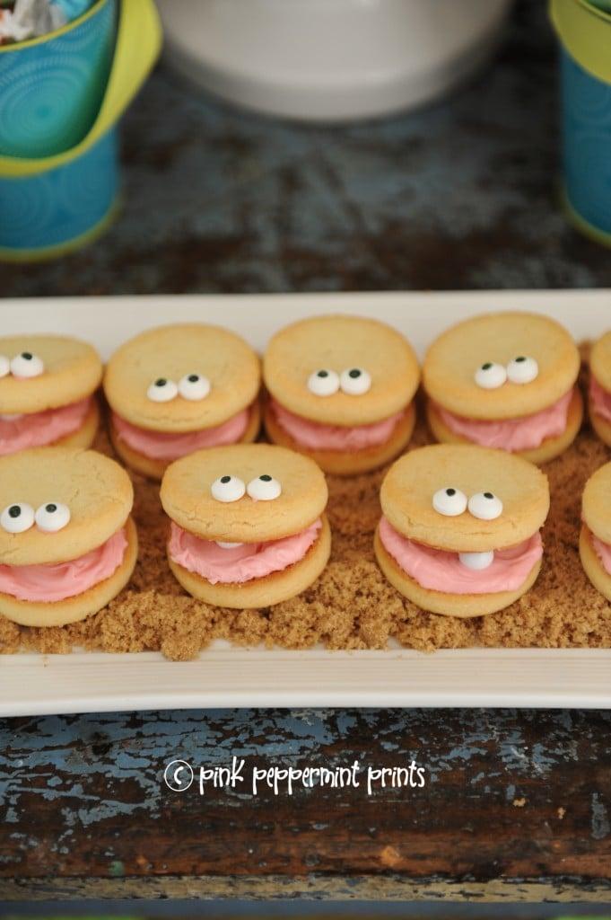 beach theme cookies