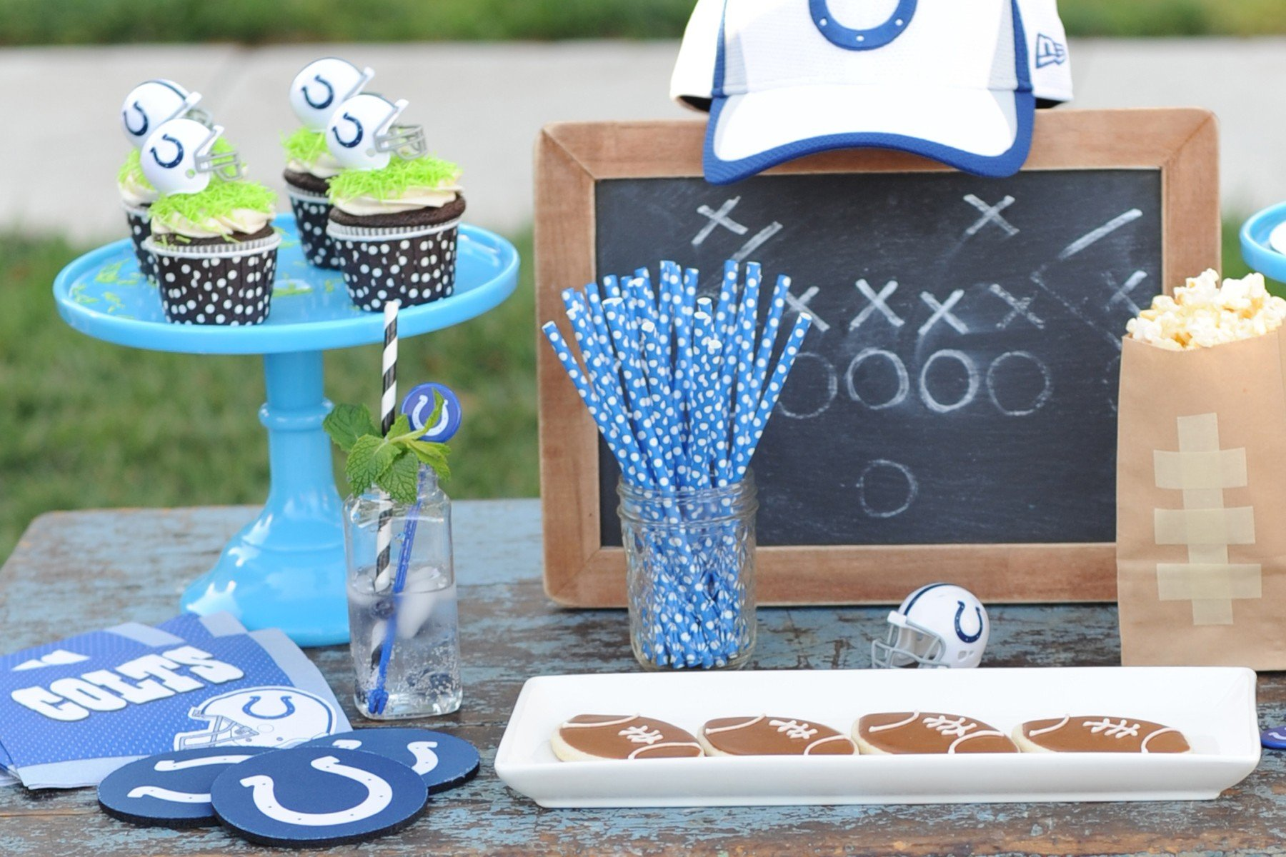Are you Ready for Some Football? Tailgate themed Football Party ...