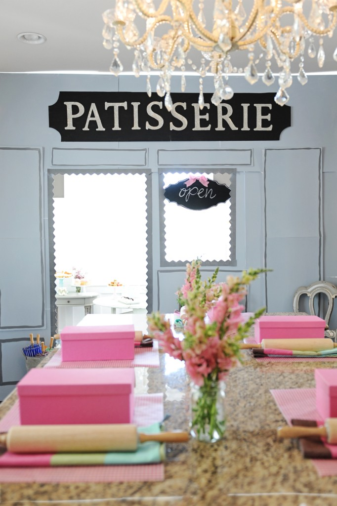 patisserie birthday party