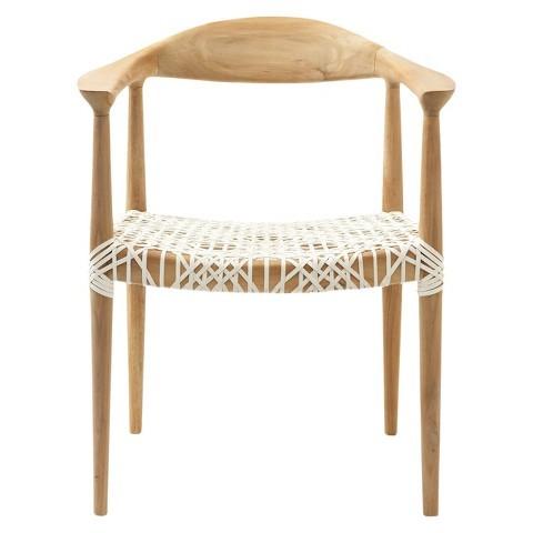 teak chairs target safavieh fes armchair