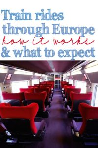 Train Rides through Europe How it Works and What to Expect