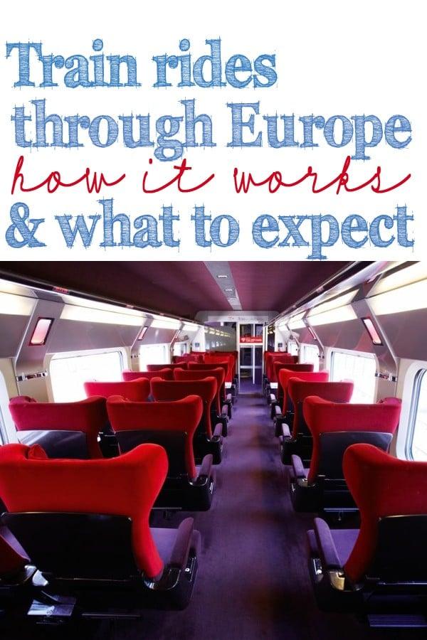 Train rides through europe 1