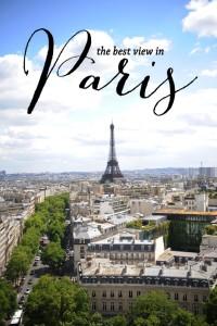 The Best View in Paris: The Arc De Triomphe