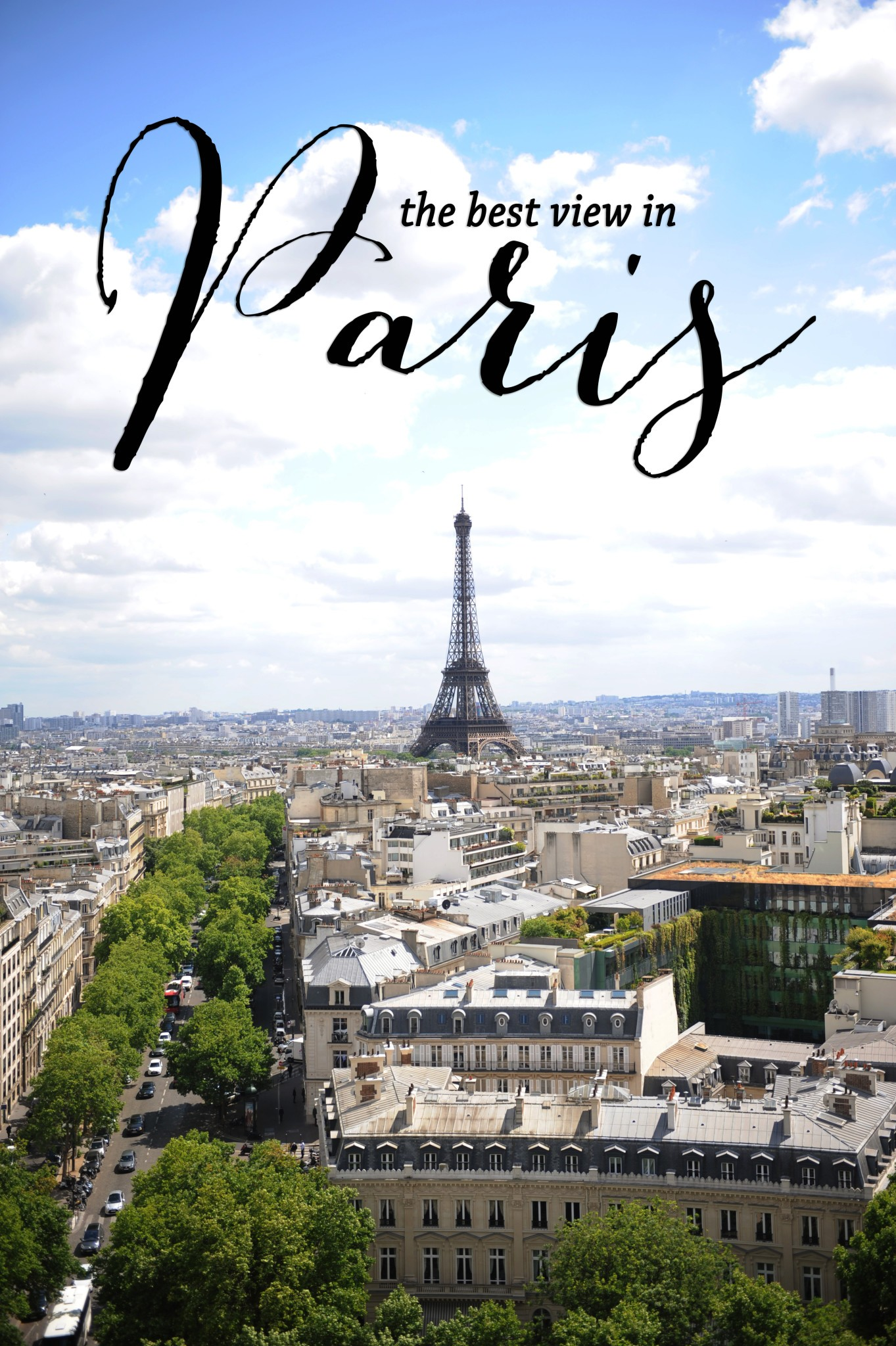 best places for views in Paris