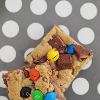 best blondie recipe great way to use up halloween candy