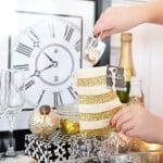 DIY Confetti Bar : Perfect for New Year's Eve fun and Wedding Confetti Ideas