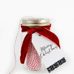 Cute and Easy DIY Christmas Gift and Free Printable Gift Tags