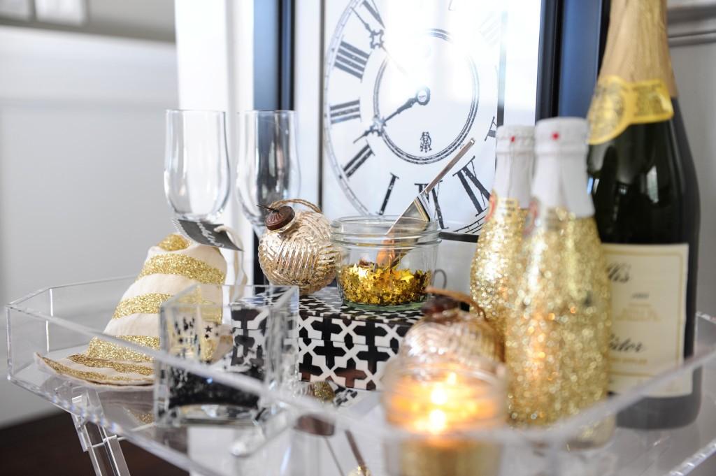 DIY NYE Confetti Bar Party Idea by Tammy Mitchell