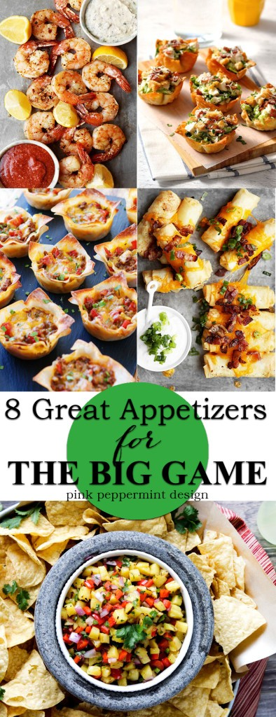 8 great appetizers for the big game