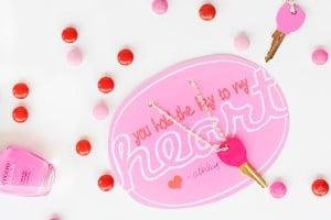 DIY Handmade Kid's Valentines : Key to My Heart