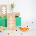 DIY Football Party Food and Favor Bags
