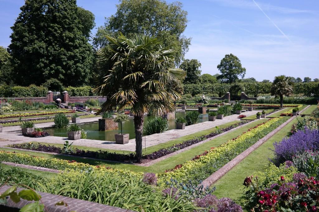 Tea at the Orangery at Kensington Palace