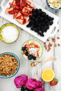 Brunch Ideas : Easy Entertaining with a Brunch Parfait Bar