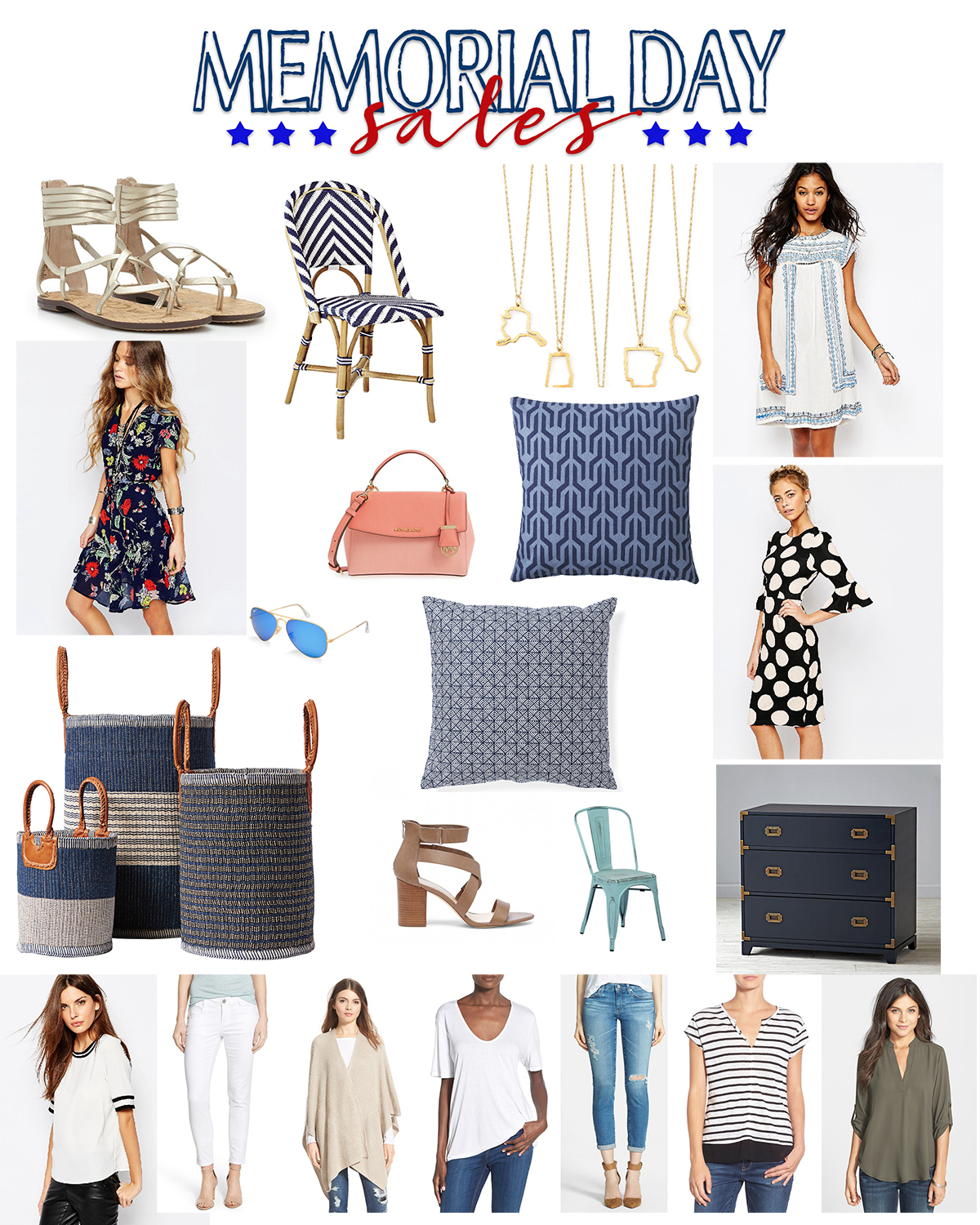 Memorial day sales collage 150