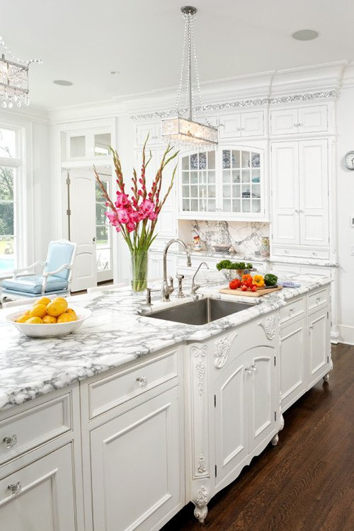 Captivating White Kitchen Design Trend