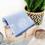 DIY Block Print Towels