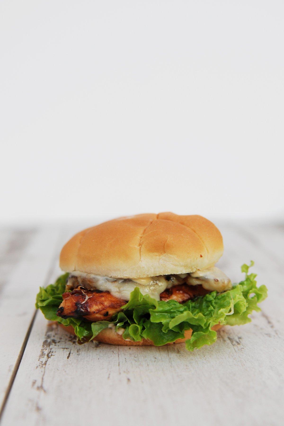 Chicken teriyaki sandwich 4