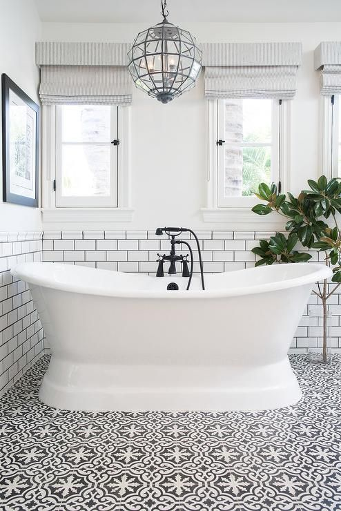 Merveilleux Patterned Bathroom Floor Tiles