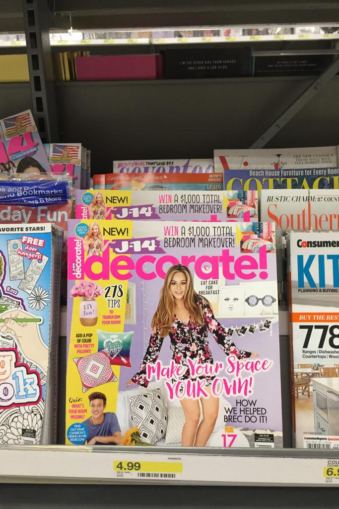 j-14 decorate magazine