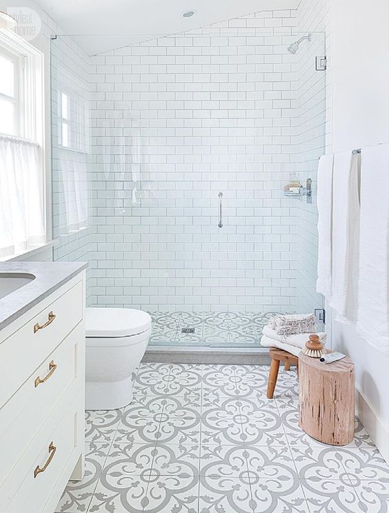 style at home - Images Of Bathroom Floors